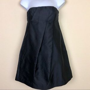Club Monaco | Mini Black Strapless Dress - Sz 2